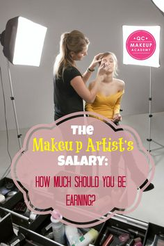 The pay range for an #mua is wide, and dependent on several different factors such as the brand you work for, the region you live in, and more! Not sure how much to charge? Read on! #QCMakeupAcademy #makeupartist #salary #makeupcareer #makeupschool #learnonline #beauty #beautyblog #makeup