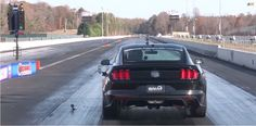 Ford Mustang GT quarter mile in less than 9 seconds