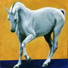 Horse painting by Patricia Powers