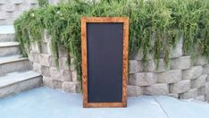Check out this item in my Etsy shop https://www.etsy.com/listing/230347633/24-by-48-chalkboard-sign-distressed