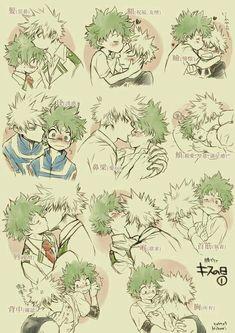 My Hero Academia - Katsuki x Deku Boku No Hero Academia, My Hero Academia Memes, My Hero Academia Manga, Boko No, Hot Anime Guys, Boyxboy, Shounen Ai, Fanarts Anime, Cute Gay