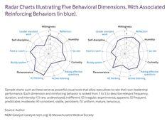 Improvement Culture: Radar Charts Illustrating Five Behavioral Dimensions, with Associated Reinforcing Behaviors (in blue)