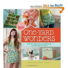one-yard-wonders - a DIY Guide to sew with one yard of fabric