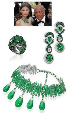 Style de GRISOGONO emerald fashion love