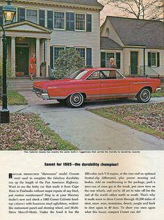 1965 Mercury Comet Caliente 2 Door Hardtop