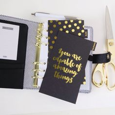 You are capable of amazing things! Kikki-k planner