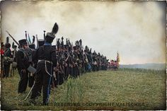 Brunswick infantry at the 200th Anniversary of the Battle of Waterloo / https://www.facebook.com/Valischkas