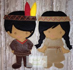 Native American Couple Outfits for Boy and by NettiesNeedlesToo, $24.00