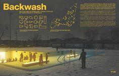 Projet Backwash / Concours Nordicité ADUQ / 1er prix catégorie professionnelle + Prix du public #Montreal #ADUQ #Architecture