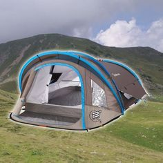 Sekundový stan Quechua 2 Seconds  XL AIR II Outdoor Gear, Tent, Sports, Shopping, Cabin Tent, Hs Sports, Tentsile Tent, Outdoor Tools, Tents