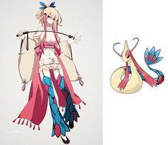 If pokemon characters were anime characters #pokemon #anime