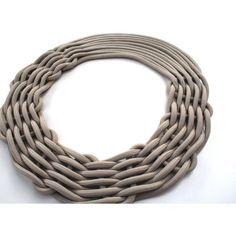 climbing rope necklace   alienina
