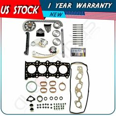 Fits 02-06 Chevrolet HHR Malibu Pontiac Sunfire 2.2L DOHC Head Gasket Set Bolts