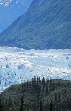 Glaciers in Alaska - Matanuska Glacier Alaska
