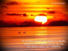 Al iniciar el Santo día que el Señor dejó, que tu corazón esté dispuesto a buscarlo sinceramente. Bendiciones y #FelizSabado