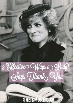 3 Effective Ways a Lady Says Thank You   She is MORE