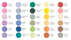 Green Color Names Palette | will also mean a large group of colors will be retiring. Thirty colors ...