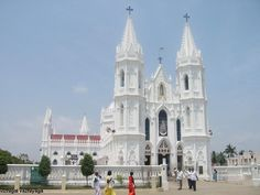Basilica of Our Lady of Good Health is built in Gothic-style architecture. It's located in the small town of Velankanni on the shore of the Bay of Bengal in the southern state of Tamil Nadu and attributed to Mary, mother of Jesus Christ, after three miracles occurred in the 16th-17th centuries. It is one of two only icons where Mother Mary is shown donning a sari. http://www.hindu.com/thehindu/mp/2003/06/16/stories/2003061600540200.htm