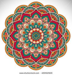 Find Flower Mandalas Vintage Decorative Elements Oriental stock images in HD and millions of other royalty-free stock photos, illustrations and vectors in the Shutterstock collection. Thousands of new, high-quality pictures added every day. Mandala Art, Mandala Drawing, Mandala Painting, Flower Mandala, Dot Painting, Mandala Pattern, Motif Vector, Ornament Pattern, Sacred Geometry Tattoo