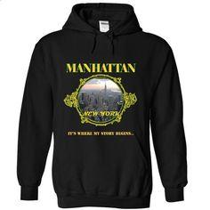 YOU WERE BORN IN  MANHATTAN, New York - #full zip hoodie #hoodie sweatshirts. GET YOURS => https://www.sunfrog.com/States/YOU-WERE-BORN-IN-MANHATTAN-New-York-2858-Black-20223978-Hoodie.html?60505