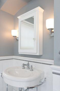 Interior Design Ideas: Paint Color Sherwin Williams Earl Gray SW7660.