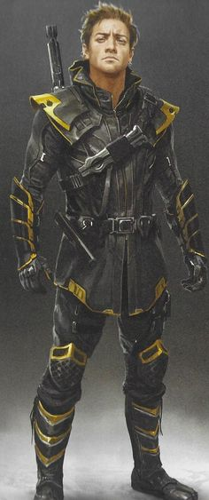 In this new concept art from Avengers: Endgame, Clint Barton dons some very different Ronin costumes, and Black Widow gets everything from a mask of her own to a very brightly coloured superhero suit. Marvel Concept Art, Marvel Art, Marvel Dc Comics, Marvel Heroes, Marvel Avengers, Superhero Suits, Superhero Design, Hawkeye Costume, Black Widow Costume