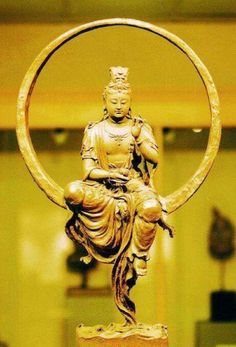 Guanyin, the Bodhisattva of Compassion or Goddess of Mercy Buddha Buddhism, Buddha Art, Sculpture Art, Sculptures, Spiritus, Guanyin, Gods And Goddesses, Religious Art, Our Lady