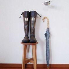 """雨の日だってお洒落を楽しみたい♪ """"B""""マークが目印の「日本野鳥の会の長靴」"""