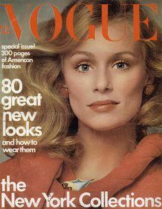 Lauren Hutton by Richard Avedon Vogue US September 1974