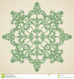 Victorian Card Ornaments   Vector baroque ornament in Victorian style. Element for design. It can ...