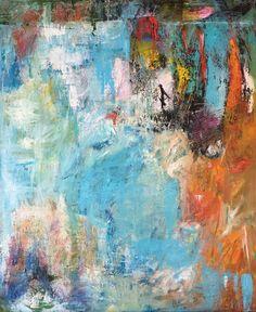 Safe Harbour By Christy Sverre Modern Art, Contemporary Art, Original Art, Original Paintings, New York Art, Nautical Art, Underwater Photography, Texture Art, Indian Art