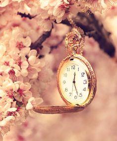 Pale Coral/ Apricot. Timepiece