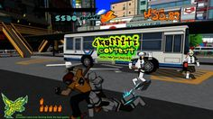Jet Set Radio is coming out on Xbox Live. So excited about it, I played the Dreamcast version to death.