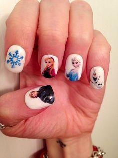 Adesivi per unghie congelati