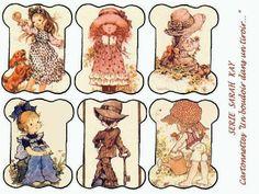 """Милые сердцу штучки: рукоделие, декор и многое другое: Декупажные карты: """"Бобины для мулине. Детский мир""""..."""