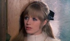 Marianne Faithfull in The Girl On a Motorcycle (1968).