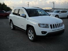 2014 Jeep Compass Sport White   Another SUV I'm considering.