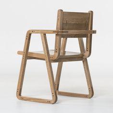 SINFÍN Chair. Designed by Camilo Cálad for Macrocéfalo Diseño. #chair #furniture #design #furnituredesign #industrialdesign #wood