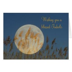 Wishing you a blessed Imbolc Card - click to get yours right now!