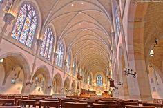 All Saints Chapel, Sewanee University-Interior