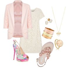 """""""Pink Class"""" by danicashea on Polyvore"""
