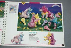 Hasbro 1982-1995 Toy Fair Retailers Catalog Baby ballerina assortment (packs of 12)