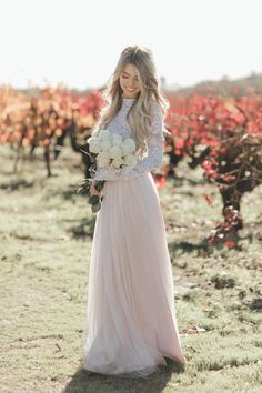 Flawless bridal look from Bliss Tulle