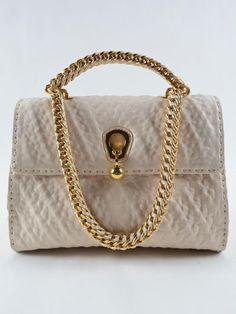 ERMANNO SCERVINO Ermanno Scervino Shoulder Media. #ermannoscervino #bags #shoulder bags #hand bags #leather #