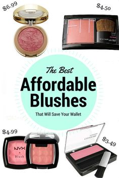 The top 5 affordable drugstore blushes that will save your wallet!
