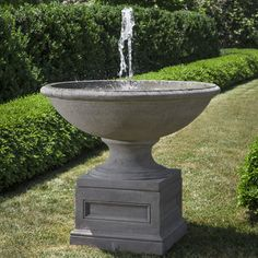 Found It At Wayfair   Condotti Cast Stone Garden Terrace Fountain