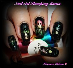 Nail Art Stamping Mania: Bundle Monster Challenge: Death  http://nailartstampingmania.blogspot.it/2014/10/bundle-monster-challenge-death.html