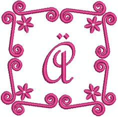 SA Funky Alpha Capital Letters