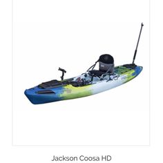 If you are looking for a boat to fit into your kayak fishing lifestyle this is the one! Check it out at our website!