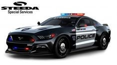 Steeda's 2016 Mustang Police Interceptor is Hot and Nasty! Between the Big Three it's a proverbial battle of the fiercest police interceptors, and Steeda just brought big guns to the fight. Check out the 2016 Mustang Police Interceptor! Ford Mustang Gt, Mustang Cars, Ford Gt, Fort Mustang, Ford Police, Police Cars, Police Vehicles, Automobile, Emergency Vehicles